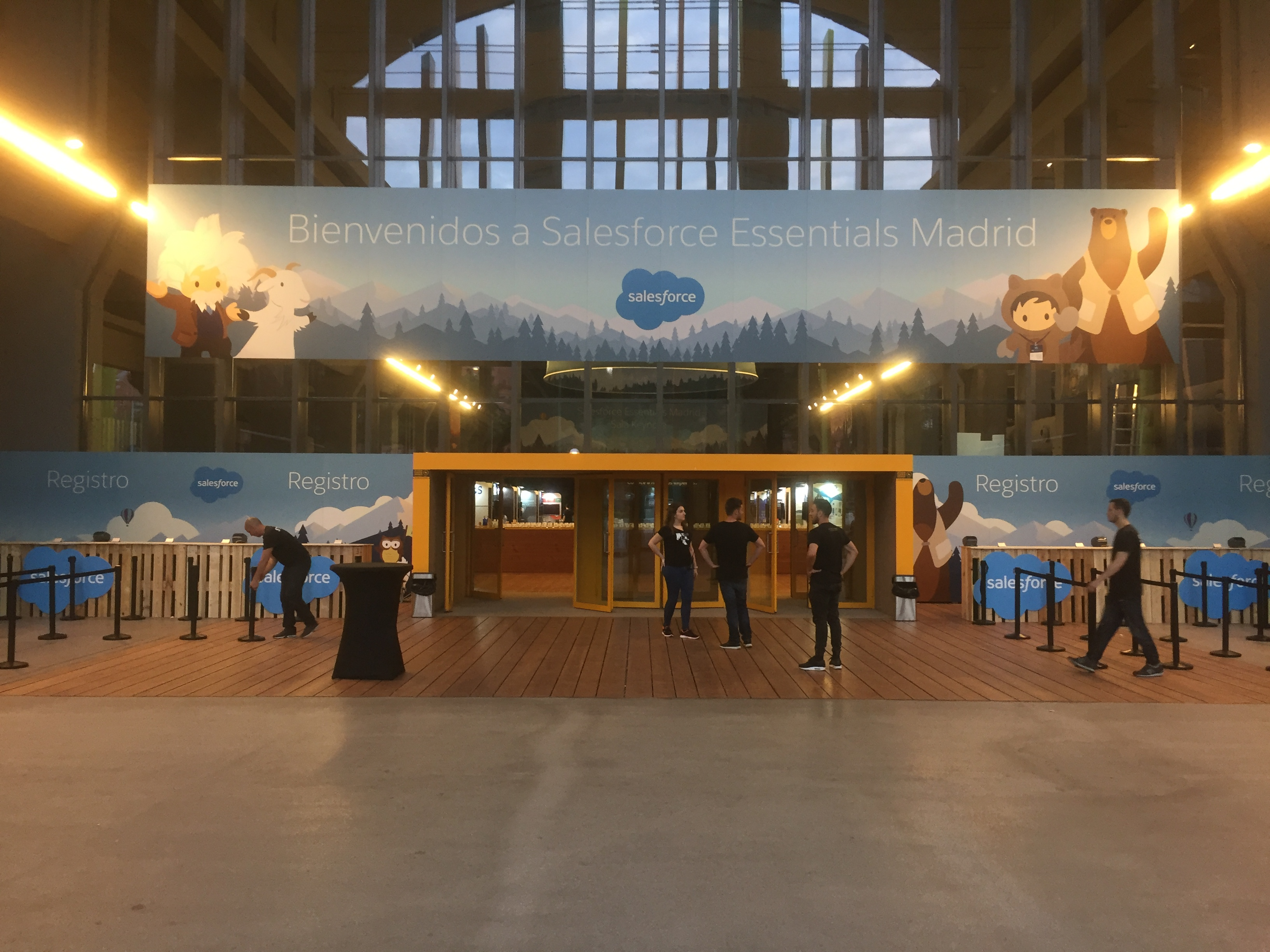 Evento para la empresa Salesforce